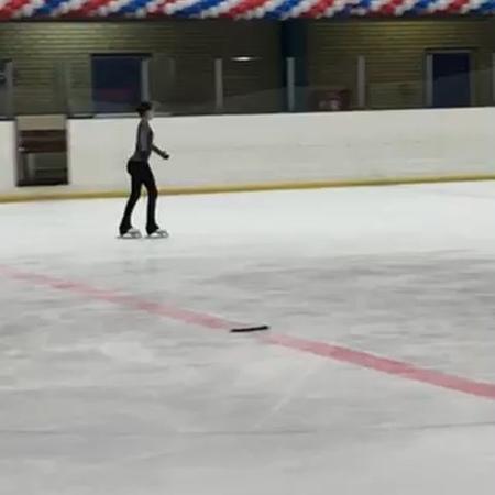 "Eteri Tutberidze on Instagram ""Anna Shcherbakova on the practice. Moving the limits. 4 lutz 3 loop. isu teamtutberidze annashcherbakova wor..."