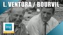 Lino Ventura et Bourvil Les Grandes Gueules Archive INA