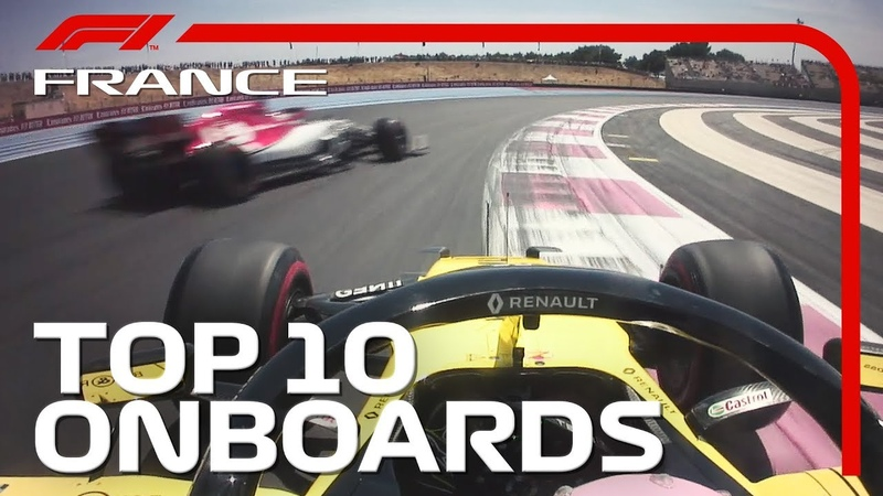 Team-Mate Duels, Frantic Finishes And The Top 10 Onboards   2019 French Grand Prix