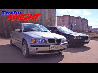 BMW 3 E46 vs BMW 5 E39. Turbo Knight