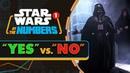 Как часто герои «Звездных войн» говорят «нет»