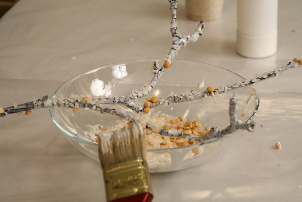 Коралловая ветка своими руками - Handmade 1. Коралловая ветка своими руками.