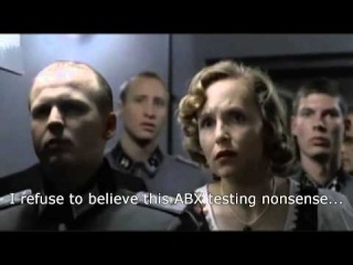 Hitler finds out cables don't make a difference to HiFi sound quality