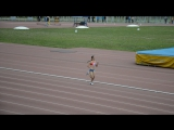 Кристина Калентеева в сильнейшем забеге на 800 метров девушек до 20