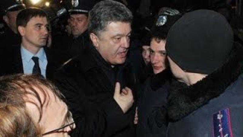 Парашка в Крыму получил яйцом по голове и пенделя в догонку
