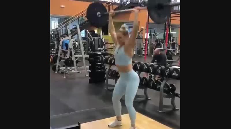 Мощная тренировка