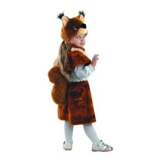 Детский карнавальный костюм Белочки, карнавальный костюм из искусственного меха, серия ПРЕМЬЕР МЕХ, фирма Батик...