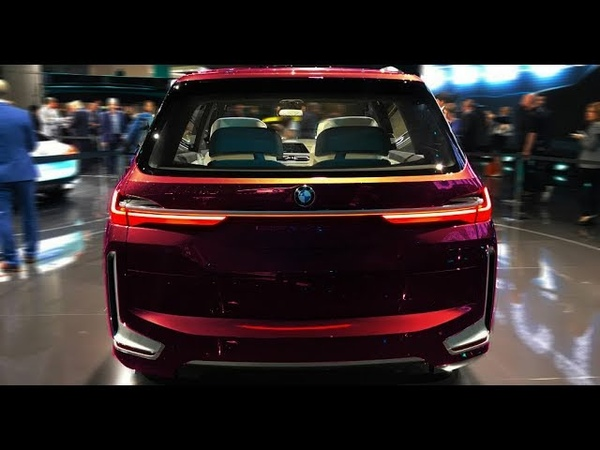 NEW 2019 - BMW X7 6.6L V12 twin-turbo 609 hp - Exterior and Interior 2160p 4K