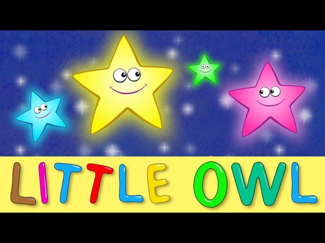THE BLUE TRACTOR | LITTLE OWL | Nursery Rhymes Lullabies | Song to put a baby to sleep