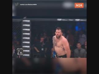 Емельяненко проиграл Бейдеру в бою за титул чемпиона мира