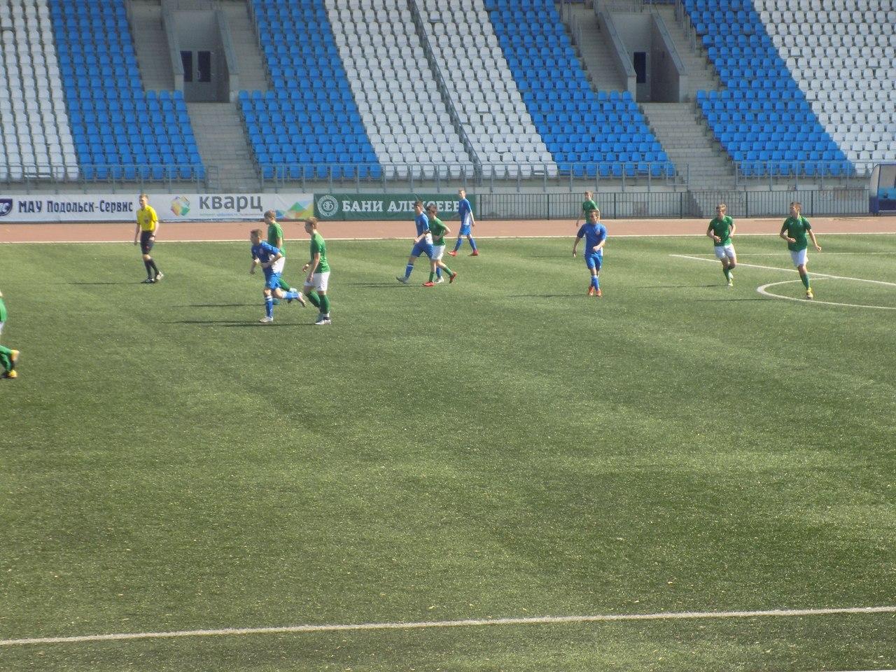 Команды СШ «Витязь» 2001 и 2003 г.р. в 4 туре Первенства России одержали две победы