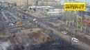 ДТП (авария г. Волжский) ул. Мира ул. Оломоуцкая 20-02-2019 13-43