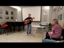 А. Воронин рук. Коллектива Авторской песни ДДК Родник