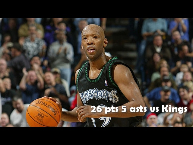 Sam Cassell 26 pts 5 asts vs Kings 05.12.2003