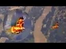 ✔ Странное предзнаменование: над кальдерой супервулкана Йеллоустон пролетела огненная птица – кадры