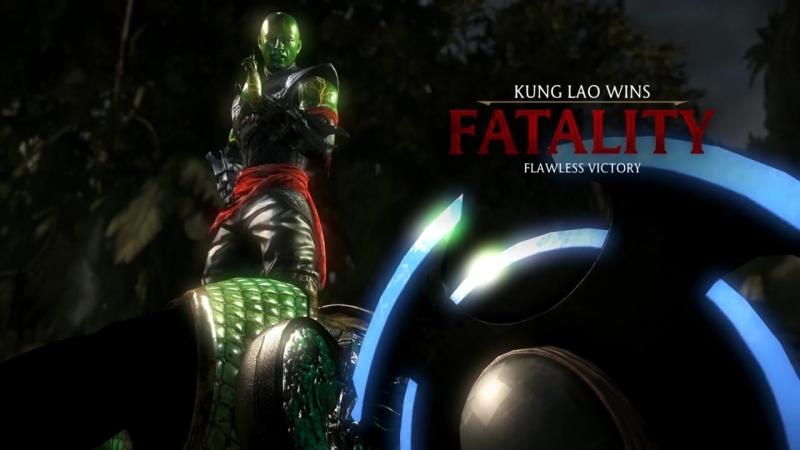 Mortal Kombat XL - All Fatalities X-Rays on Shadow Reptile Costume Mod 4K Ultr