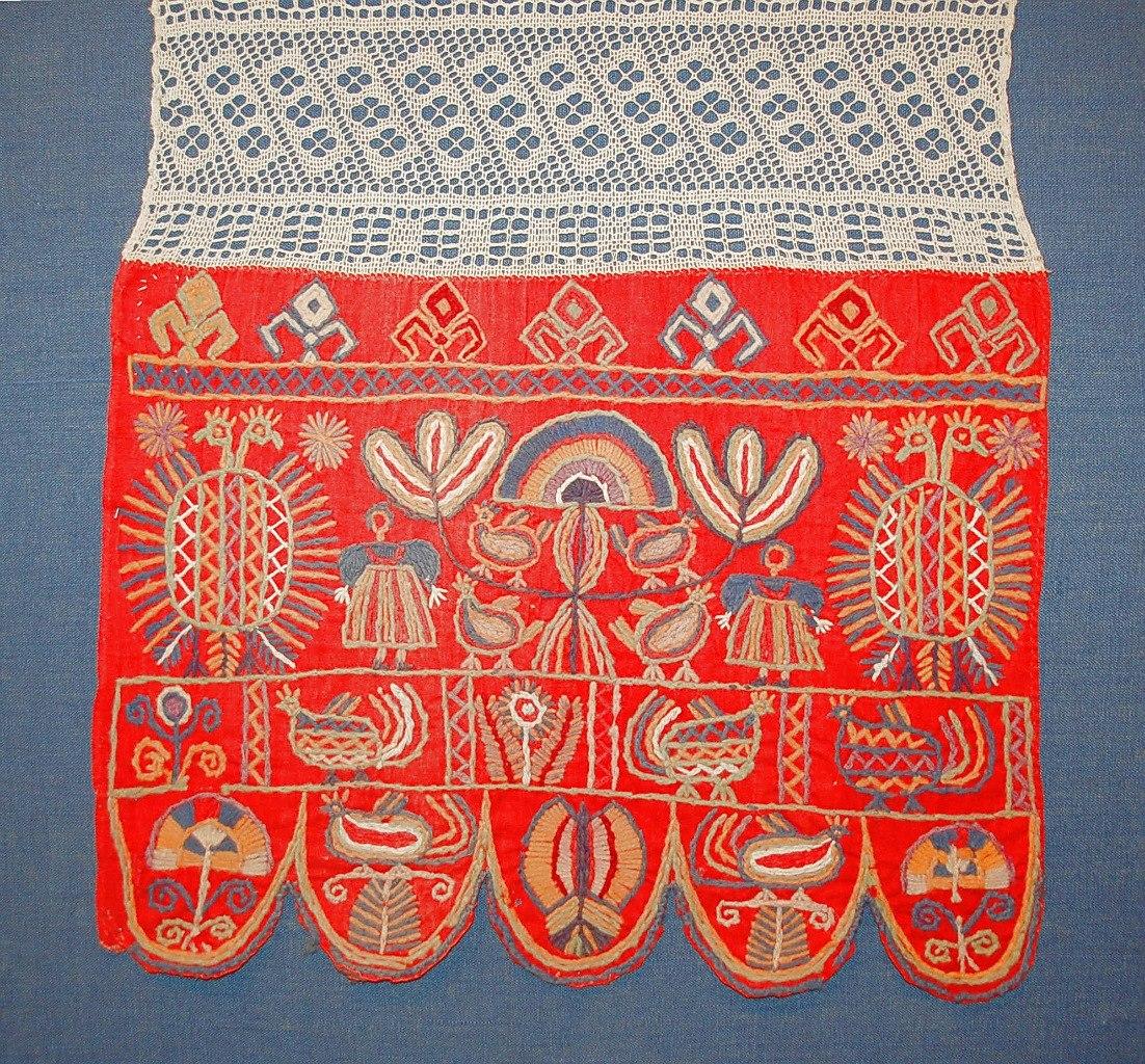 Народное искусство. вышивка