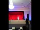 Выступление на областном конкурсе Город Кино с песней Любовь Волшебная Страна