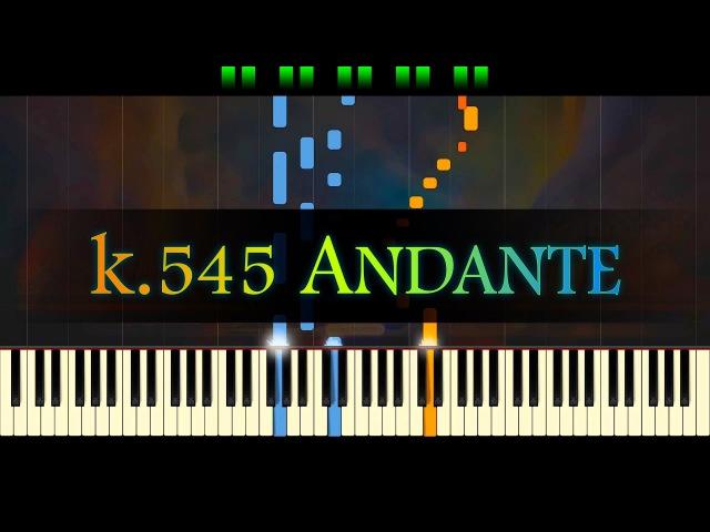 Piano Sonata No. 16, K.545 (2nd mvt) MOZART