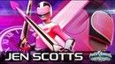 PowerRangers LegacyWars Power Rangers Time Force Jen Scotts Moveset