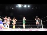 Hiromi Mimura, Jungle Kyona, Konami &amp Mary Apache vs. Oedo Tai (Hana Kimura, Kagetsu, Kris Wolf &amp Natsu Sumire)