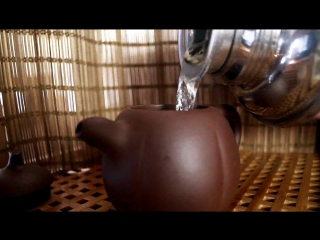 Анчан, синий чай из Таиланда - чайная церемония