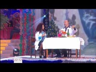 Проводы Старого года на Первом канале - Потап и Настя