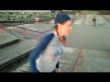 Паркур в Олимпийском парке. Сочи.