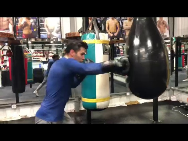 Boxing star Lindolfo Delgado who usually spars Mikey Garcia fights on his card March 16