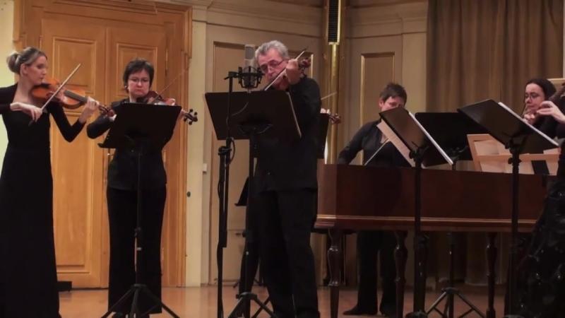 1049 J. S. Bach - Brandenburg Concert in G Major n. 4, BWV 1049 - Czech Ensemble Baroque [Peter Zajíček]