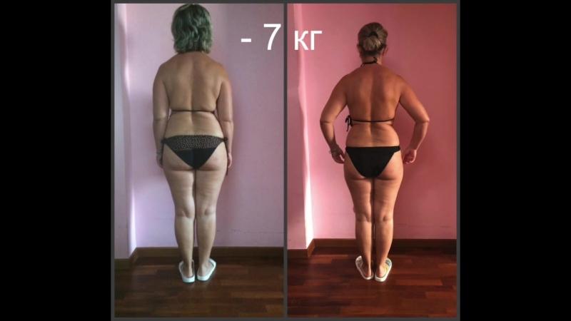 Результаты участников группы похудения №2 Стройнеем с Натальей Власенко