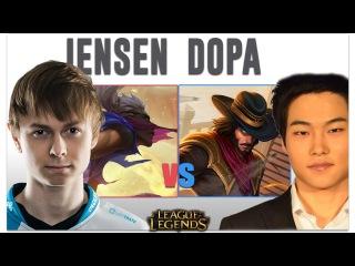 Dopa vs Jensen | Twisted Fate vs Ekko | Pro Replays ★31