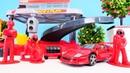 Bburago Spielzeug - Der Ferrari bekommt eine neue Service Station