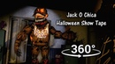 360° Jack O Chica Halloween Tape Five Nights at Freddy's 4 SFM VR Compatible