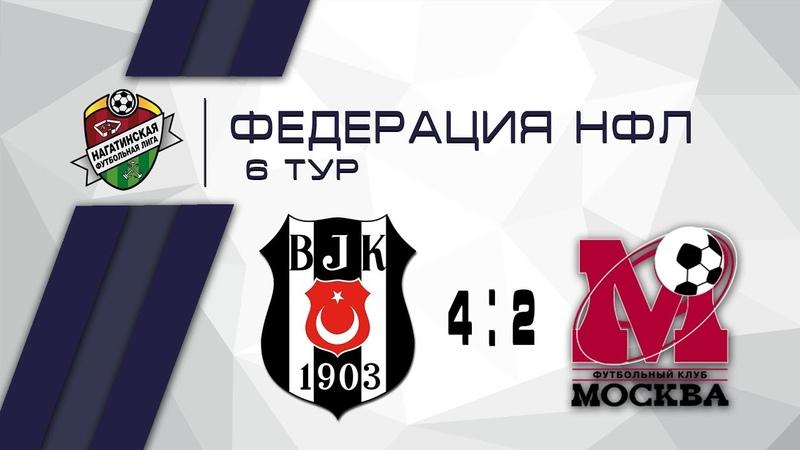 Бешикташ Москва 4-2 Фк Москва-Д   Федерация НФЛ 6 тур   Обзор матча
