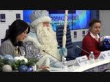 Российский Дед Мороз — почетный серебряный волонтер страны. ФАН-ТВ