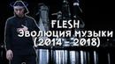 FLESH - Эволюция музыки 2014 - 2018