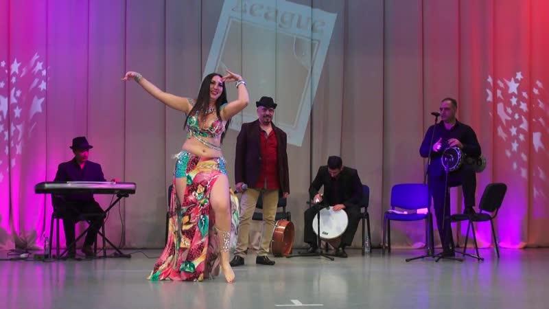 Быковская Галина оркестр Al Azdekaa классика продолжающие VII Bellydance Cup of Konigsberg 2018