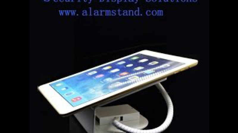 Tablet Anti Theft Alarm devices Security Display stand holder for Retail Stores