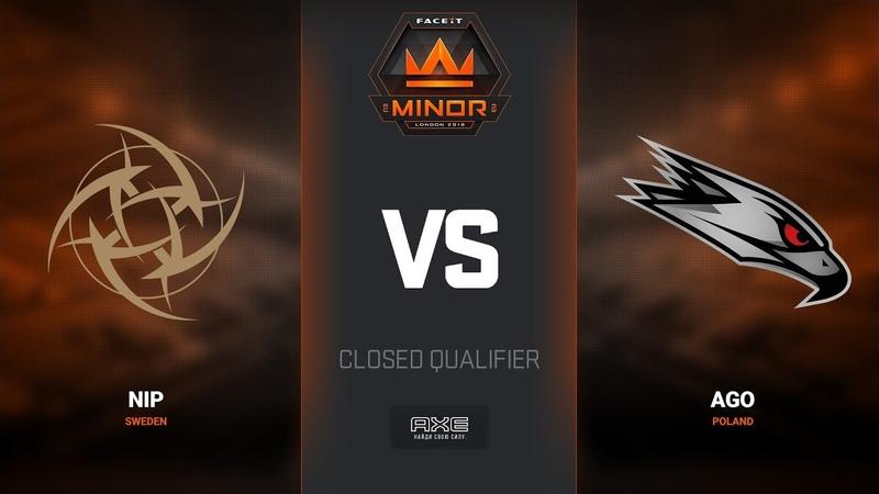 NiP vs AGO, map 3 train, Europe Minor Closed Qualifier – FACEIT Major 2018