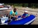 Аквилон Aquilon - надувная моторная лодка ПВХ с дном низкого давления НДНД 077