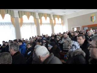 Гімн. Народна рада Костопіль 24.01.14