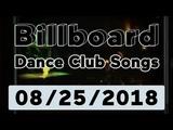 Billboard Top 50 Dance Club Songs (August 25, 2018)