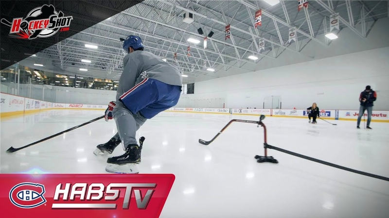 Unbelievable Jesperi Kotkaniemi stickhandling and agility demo | Kotkaniemi GoPro footage