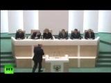 СРОЧНО Совет Федерации России одобрил Президенту Путину ввод войск в Крым(Украину) !!!