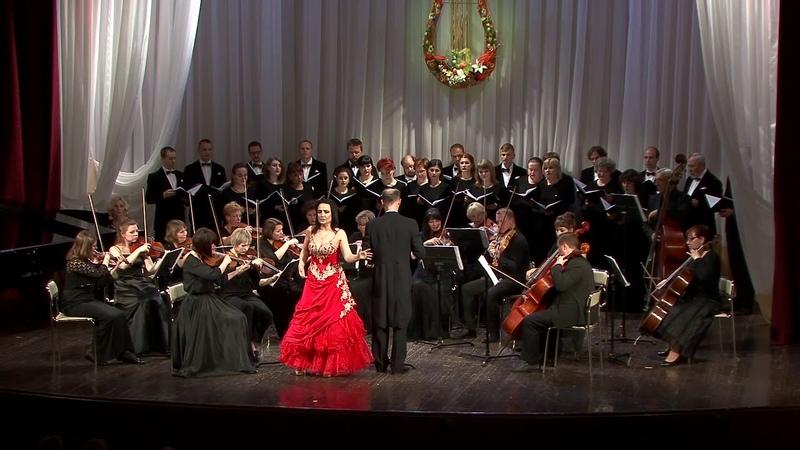 Ж. Бизе. Хабанера из оперы Кармен. Исполняет Ксения Александрова (меццо-сопрано)