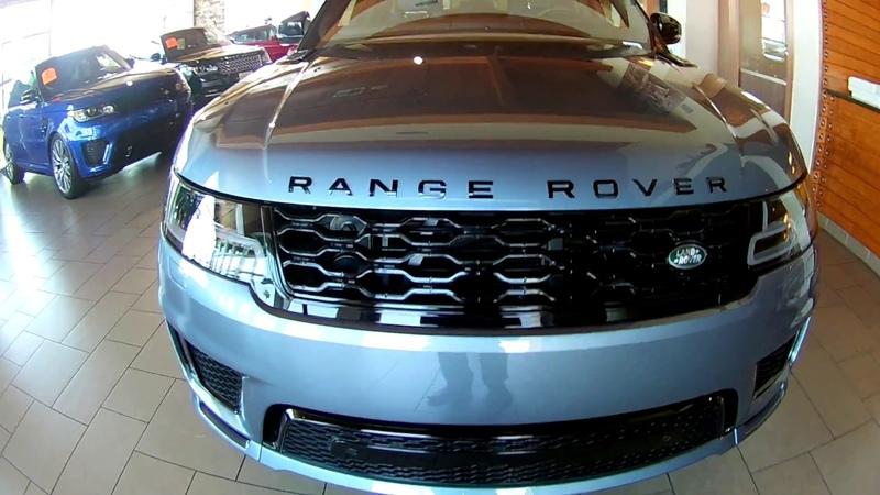 Range Rover Sport 2018 - 2019 in Byron Blue