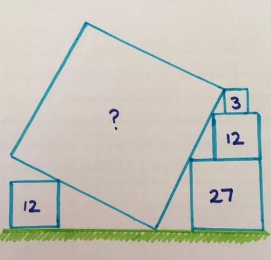 Найти площадь квадрата
