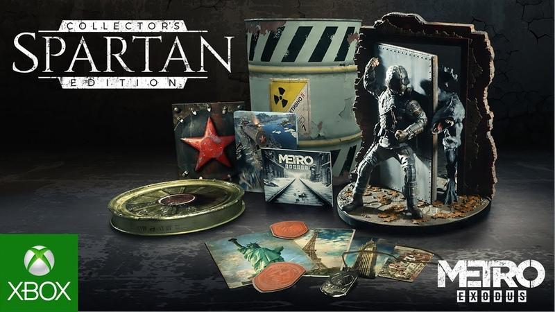 Metro Exodus Spartan Collector's Edition Trailer