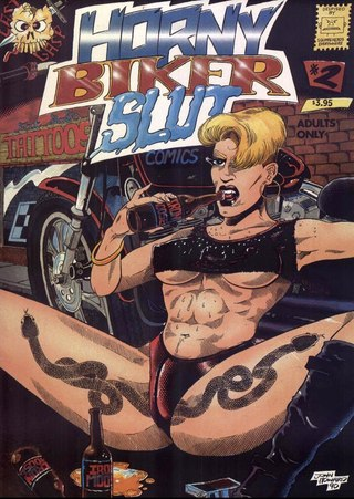 Horny Biker Slut 02